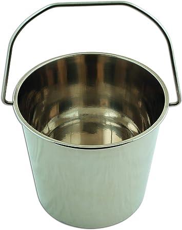 12 litri secchio in acciaio INOX Laser 5929
