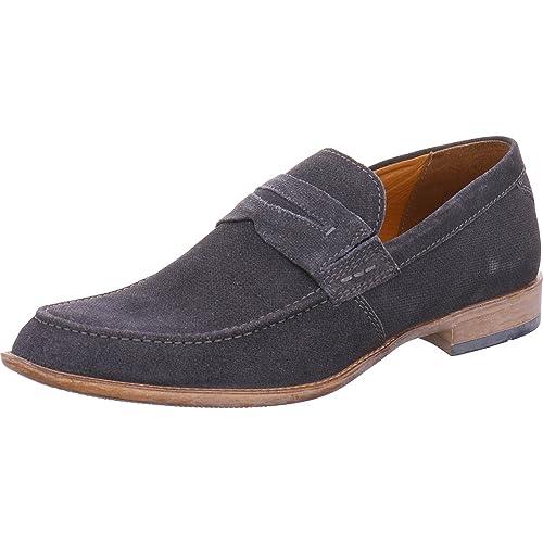 FRETZ men - Mocasines de Piel para hombre Azul azul: Amazon.es: Zapatos y complementos