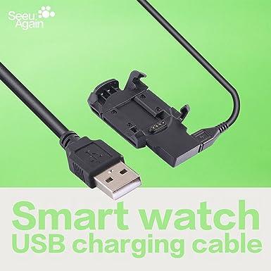 Cable de datos cargador USB Soporte de carga estación Dock ...