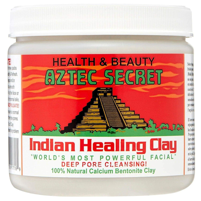 fd5fa087cacf4 Aztec Secret - Indian Healing Clay - Deep Pore Cleansing Facial & Healing  Body Mask - The Original 100% Natural Calcium Bentonite Clay - 1lb - 454g