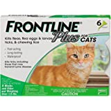 Frontline Plus for Cats and Kittens (1.5 pounds and over) Flea and Tick Treatment, 6 Doses