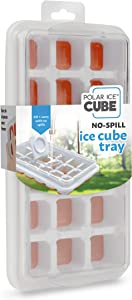 Handy Gourmet Regular Ice Cube Tray w/ No Spill Cover - Citrus