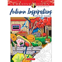 Image for Creative Haven Autumn Inspirations Color by Number (Creative Haven Coloring Books)
