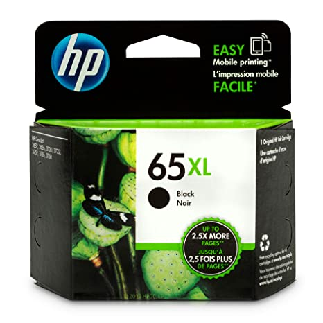 Amazon.com: HP (N9K04AN) 65 XL cartucho de tinta negra ...