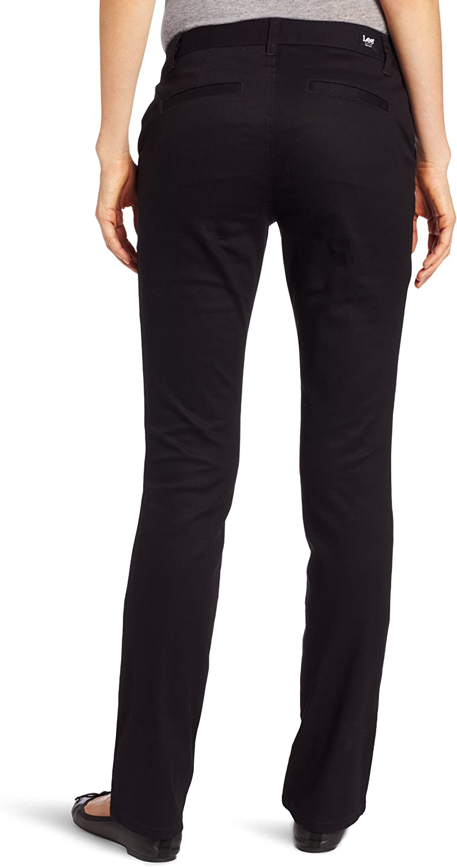 Lee Uniforms Juniors Curvey Straight Leg Pant