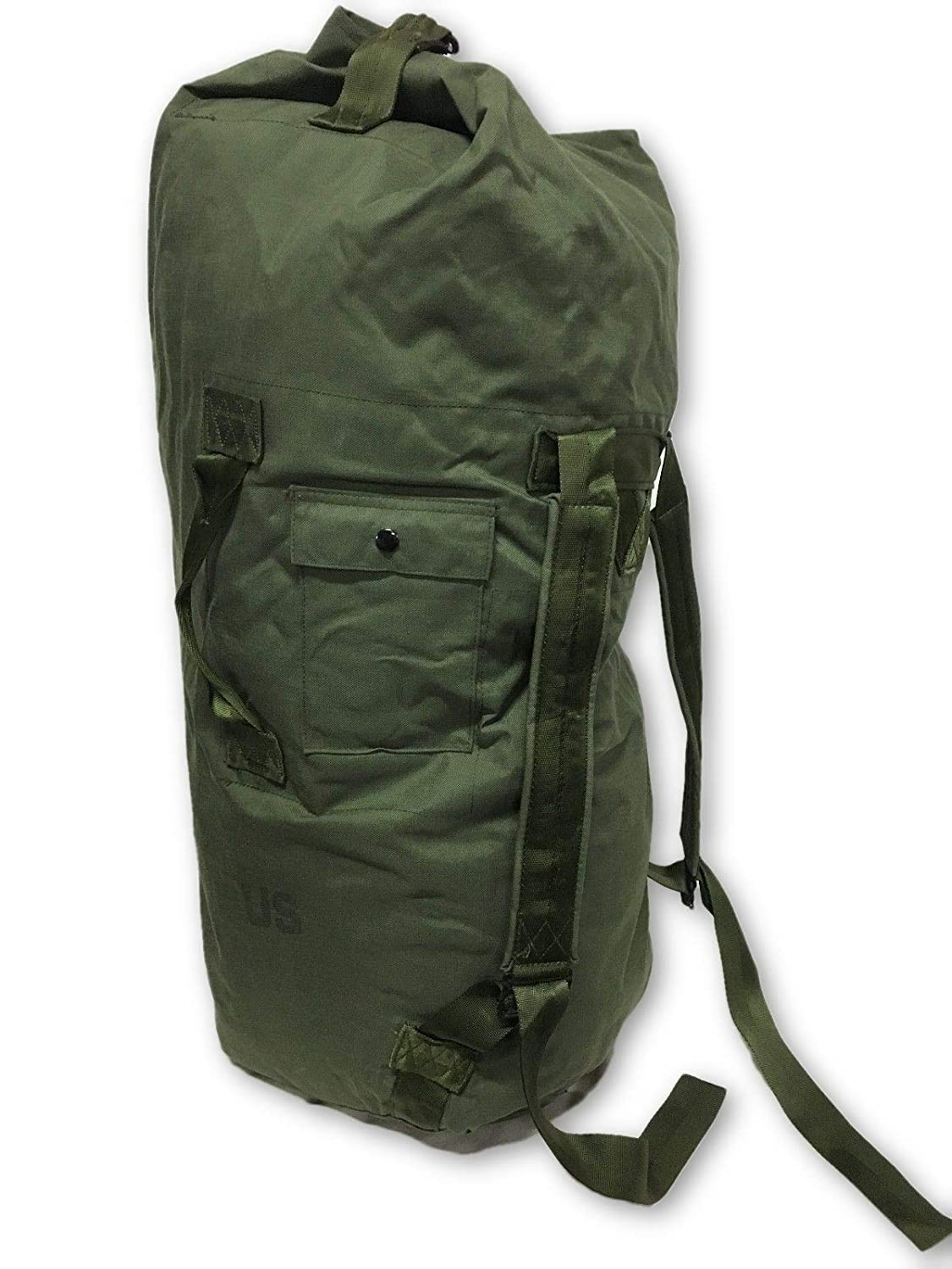 Amazon.com  NEW USA Made Army Military Duffle Bag Sea Bag OD Green Top Load  Shoulder Straps  Sports   Outdoors 5870a160e1