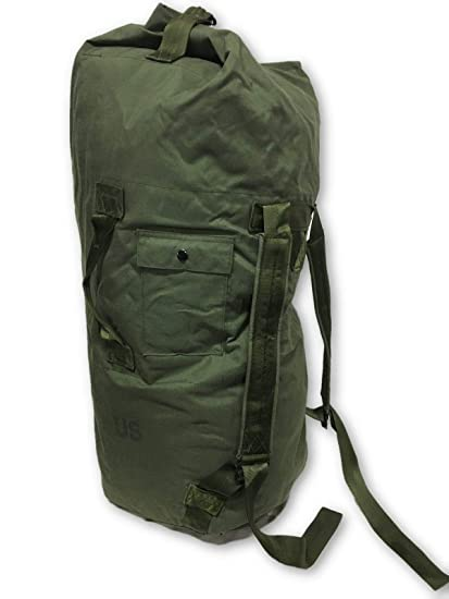 Amazon.com  NEW USA Made Army Military Duffle Bag Sea Bag OD Green ... abf3347af52