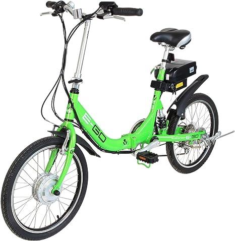 Viking - Bicicleta eléctrica, Talla S (155-165cm), Color Verde ...