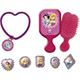 Amscan - Conjunto de accesorios de belleza (24 unidades), diseño de Princesas Disney