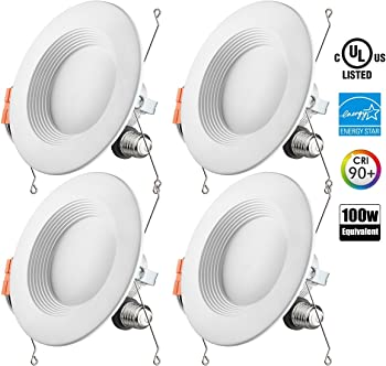 Otronics Dimmable LED Lighting Fixture (4-Pack)