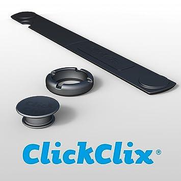 ClickClix Sistema unión para nórdicos y edredones de plumas patentado (40 unidades, Negro): Amazon.es: Hogar