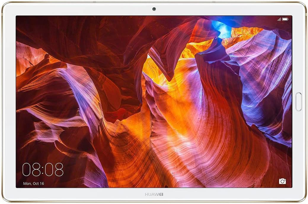 """Huawei MediaPad M5 Pro Tablet with 10.8"""" 2.5D Display, Octa Core, Quick Charge, Quad Harman Kardon-Tuned Speakers, WiFi Only, 4GB+64GB, Champagne Gold (US Warranty)"""