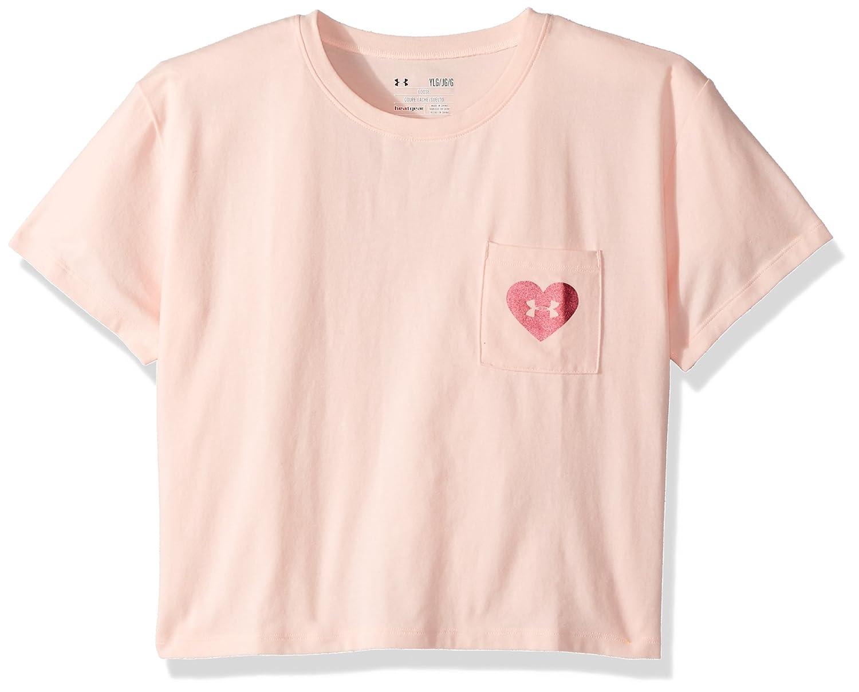 Under Armour Girls V-Day Pocket Short Sleeve Tee