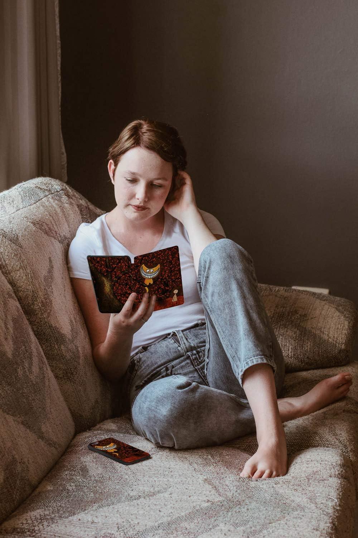 10./ª generaci/ón - Modelo de 2018 HUASIRU Pintura Caso Funda para Kindle Paperwhite Cosecha