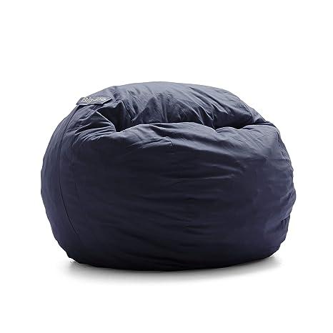 Terrific Big Joe Lenox Shredded Foam Bean Bag Kids Cobalt Cjindustries Chair Design For Home Cjindustriesco