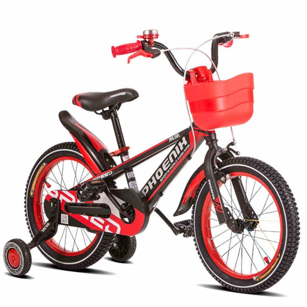 XQ TY-102子供用自転車8-16歳の少年少女高炭素スチールキッズバイク安定した耐衝撃性のピアノ塗料 子ども用自転車 ( 色 : 赤 , サイズ さいず : Length-110cm ) B07C4V3MQR Length-110cm|赤 赤 Length-110cm