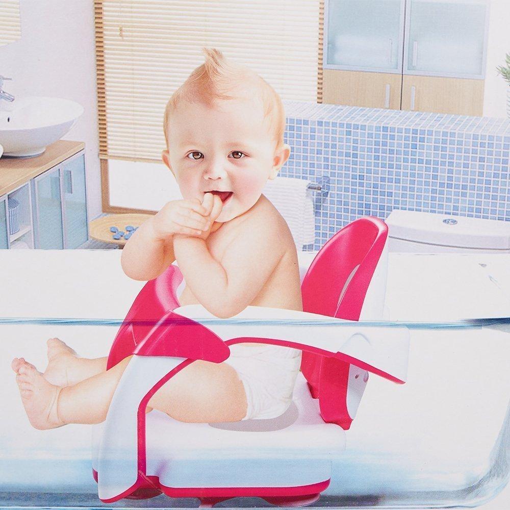 Amazon.com : KARMAS PRODUCT Baby Bath Shower Fodable Safty Training ...