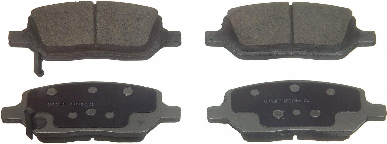 Wagner ThermoQuiet QC1093 Ceramic Disc Pad Set Rear