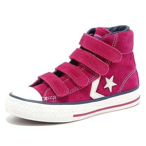 scarpe converse rosa bimba
