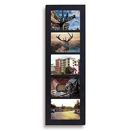 Amazon.com - Deco De Ville 3/4/5/6 Openings Wood Picture Frame ...