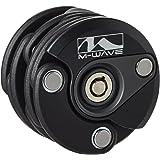 M-Wave 230199 - Candado rígido plegable, 600 mm, 2 llaves