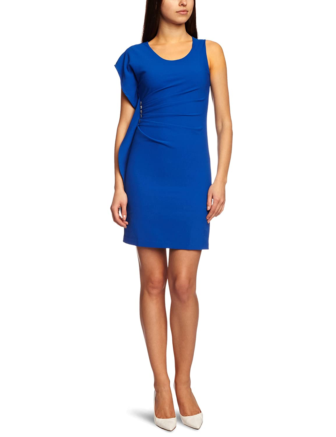 James Lakeland Band Ruched Sleeveless Women's Dress