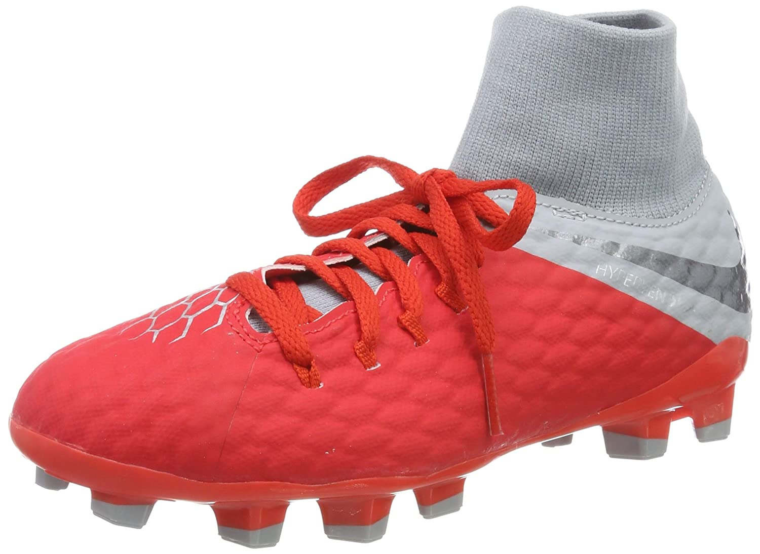 low priced a608f 17fae Nike Hypervenom 3 Academy Kid's Firm Ground Soccer Cleats (3 Little Kid M)