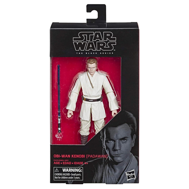 Star Wars The Black Series Episode 1 The Phantom Menace 6-Scale OBI-Wan Kenobi Figure