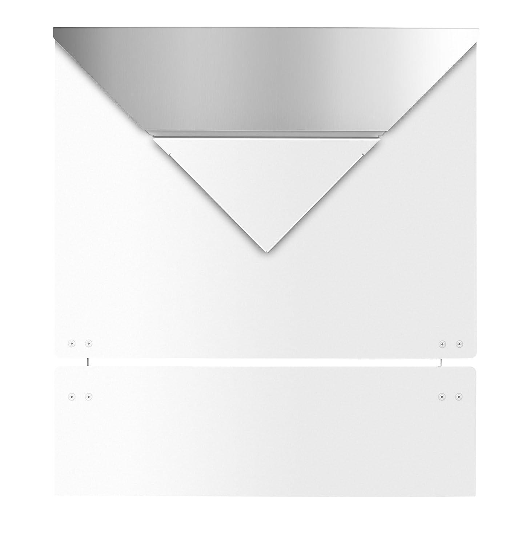 71gabkxFhyL._SL1500_ Erstaunlich Briefkasten Weiß Mit Zeitungsrolle Dekorationen
