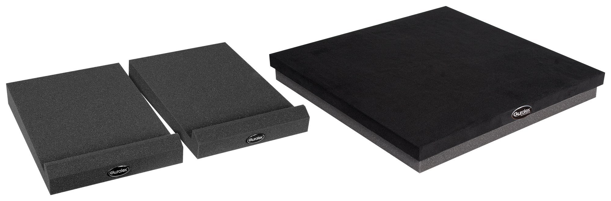 Auralex Acoustics SubDude-II MoPAD-XL Subwoofer and Loudspeaker Sound Isolation Set