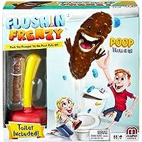 Mattel Games FWW30 - Kacka-Alarm, lustiges Spiel geeignet für 2 - 4 Spieler, Spieldauer ca. 15 Minuten, Kinderspiele ab 5 Jahren