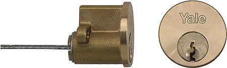 Yale Locks P1109 Visi Cylindre /à tige de remplacement avec 2 cl/és Laiton
