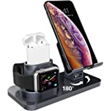 AICASEME 3 in 1 Charging Stand Compatible with iWatch Series 5/4/3/2/1, AirPods and iPhone 11/11 Pro/11 Pro Max/X/XS/XS…