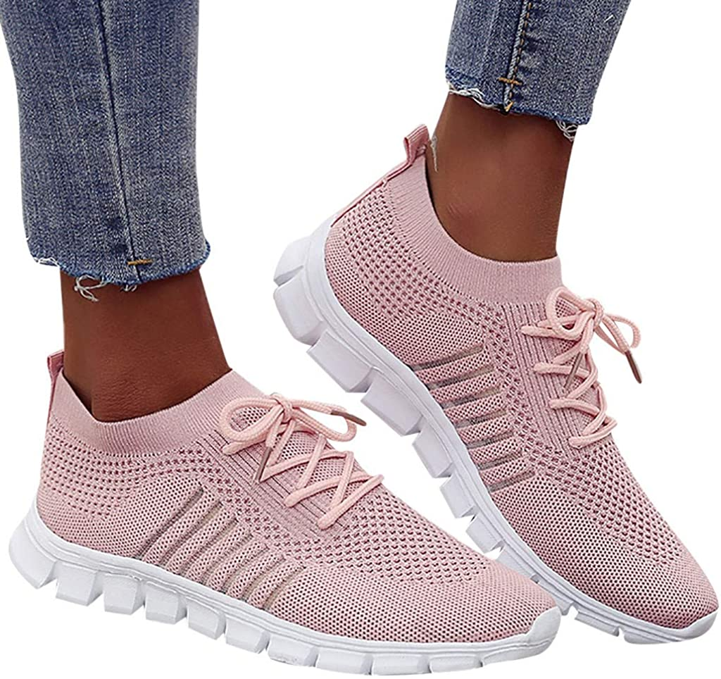 Luckycat Mujer Malla Calzado Atletismo Zapatillas Deportivas de ...