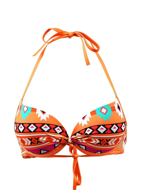 Bikini-Top Bandeau Emmatika Apache Romo Orange