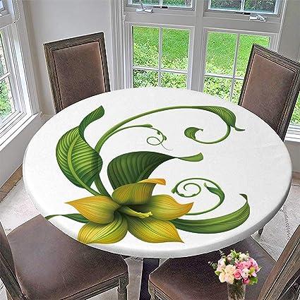 Pinafore Home Mantel Redondo De Poliéster Con Diseño De