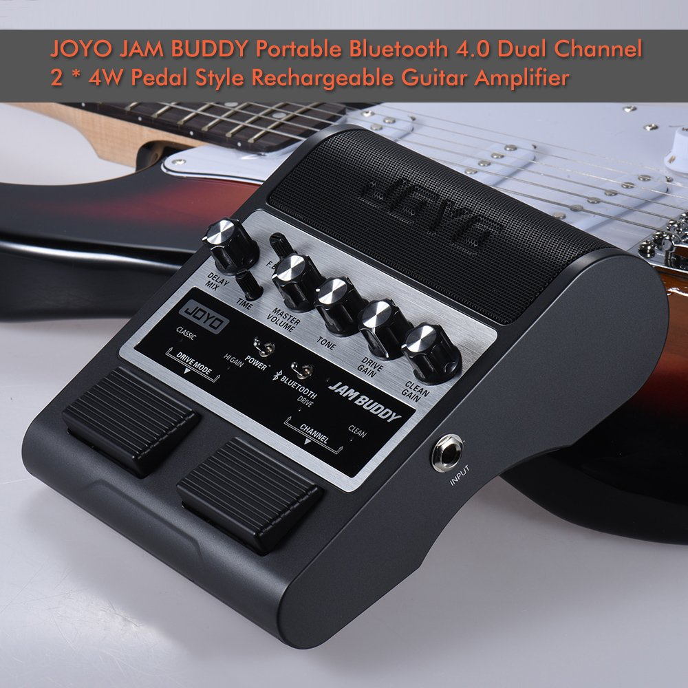 JOYO Amplificador de la Guitarra Recargable Portátil BT 4.0 ...