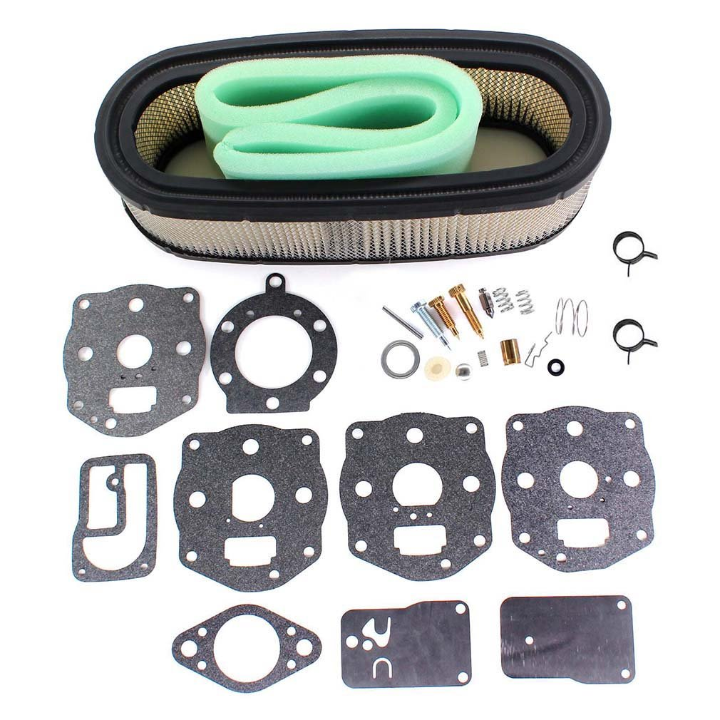 Aisen Air Filter Carburetor Overhaul Replace Rebuild Briggs Stratton Engine Cleaner Parts Model 460707 Kit Clamp For 694056 491539 394502 394019 394019s 398825 4136 5052h 5052