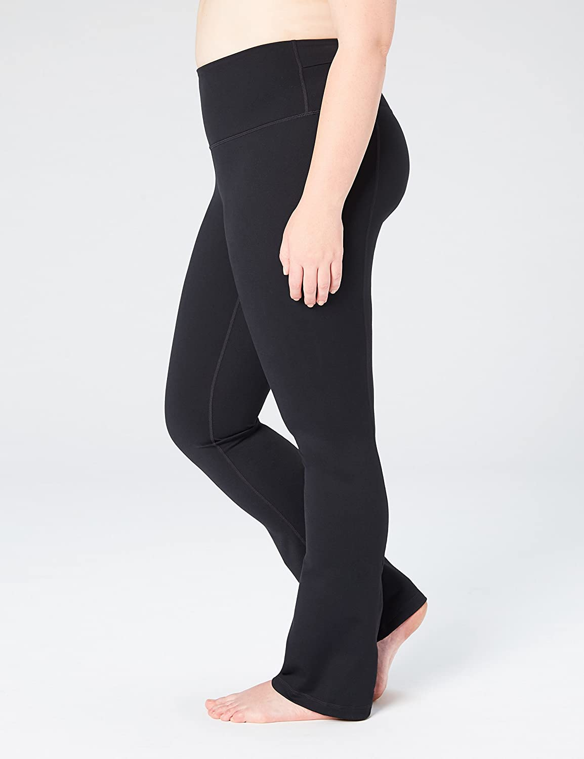 Brand - Core 10 Women's (XS-3X) 'Build Your Own' Yoga Straight Pant, Inseams Available: Clothing