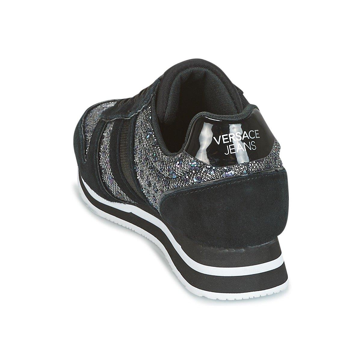 Versace Jeans Linea Fondo Stella Dis1 Suede Suede Suede Glitter Pois Textile E0VRBSA170028899 Turnschuhe 117b2e