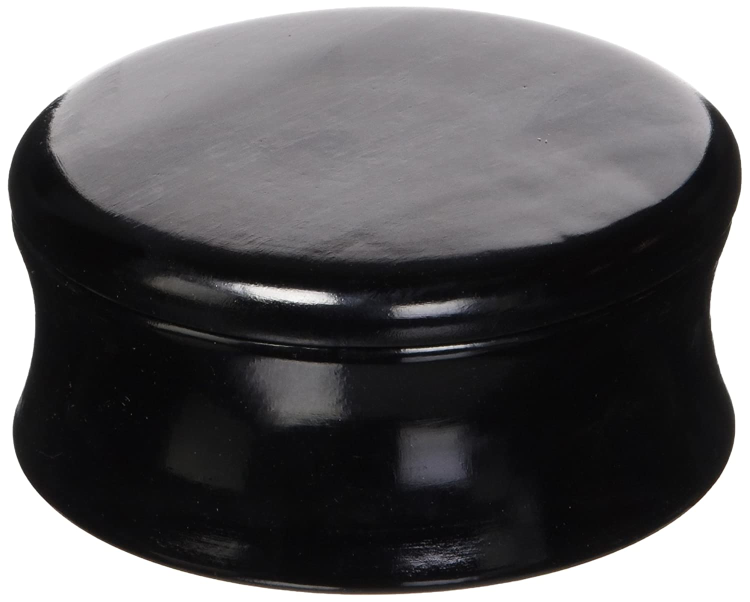 Genuine Mango Wood Shave Soap Bowl #4 - Black Laquer from Parker Safety Razor