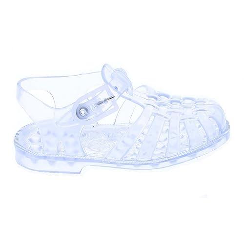 Plastique Enfant Sandales Transparent En Quzpgmsv mnv80wNOy