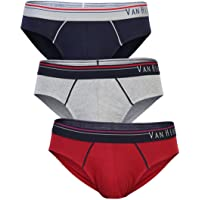 Van Heusen Men's Cotton Brief (Pack of 3)