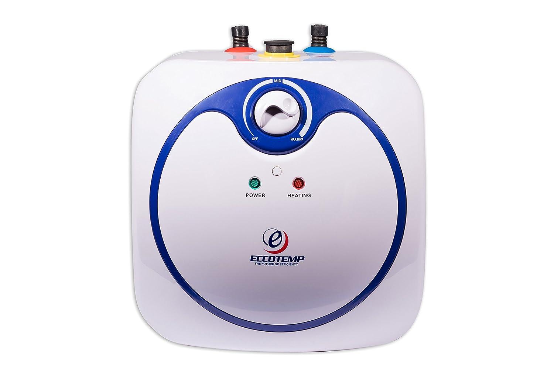 Eccotemp EM-7.0 Mini Storage Tank Water Heater, 19.75' Width, 19.00' Length, 120V 19.75 Width 19.00 Length