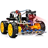 OSOYOO Robot Car Starter Kit for Arduino UNO | STEM Remote Controlled App Educational Motorized Robotics for Building…