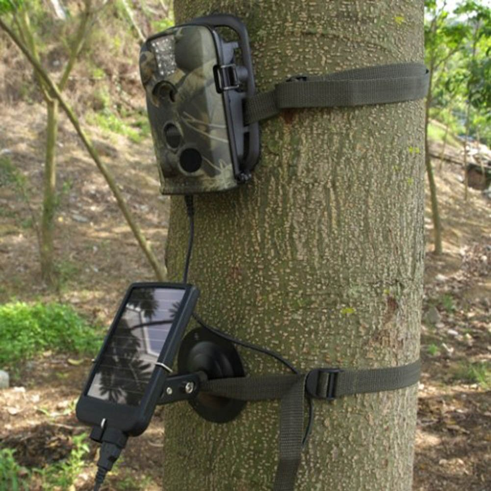 Ltl Acorn Outdoor Sports Solar Charger 2000mAh Mobile Power Bank for Hunting Trail Camera by Ltl Acorn (Image #4)