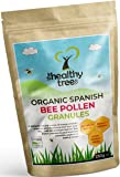Pollen d'abeille Espagnol BIO - haut contenu des vitamines C, B1, B2, B3, fer, zinc et magnésium - granules purs de pollen d'abeille de la plus haute qualité par TheHealthyTree Company