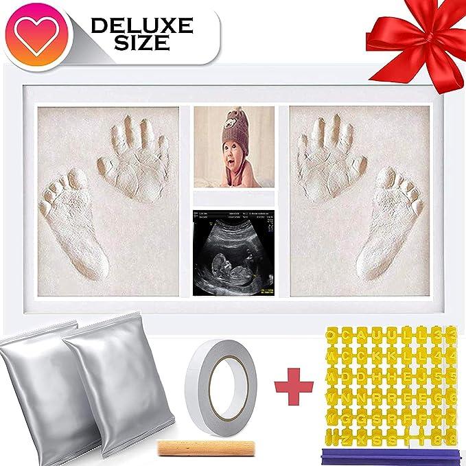 Amazon.com: Arcilla para huellas y manos de bebé de tamaño ...