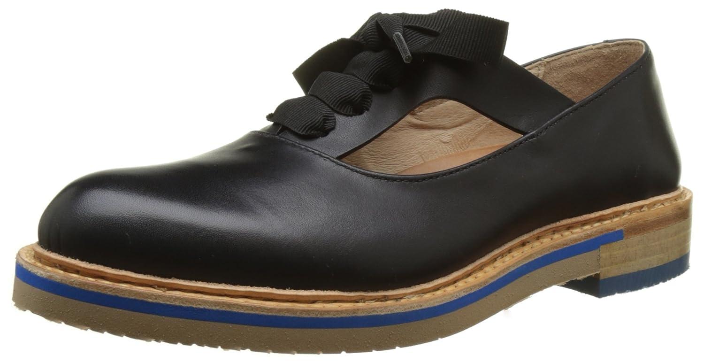 Neosens S926 Restored Skin Ebony Albilla, Zapatos de Cordones Derby para Mujer 38 EU|Negro (Ebony)