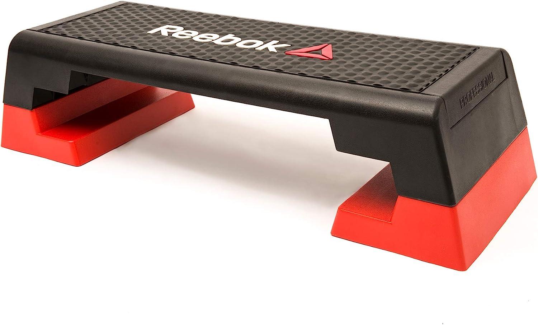 Reebok Step Steppbrett Schwarz/Rot - Steppbretter